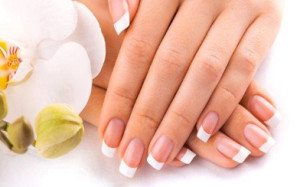 french nails modern